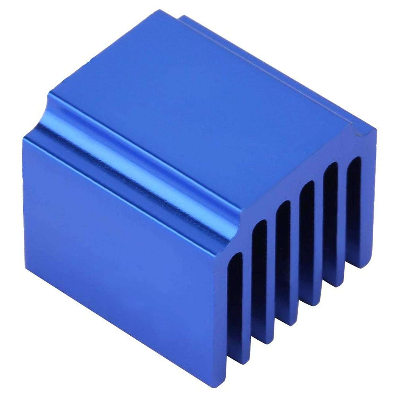 14.51315 DIY Blue Aluminum Heatsinks Fin Heat Sink 10pcs GPU SSD VGA RAM IC Chips