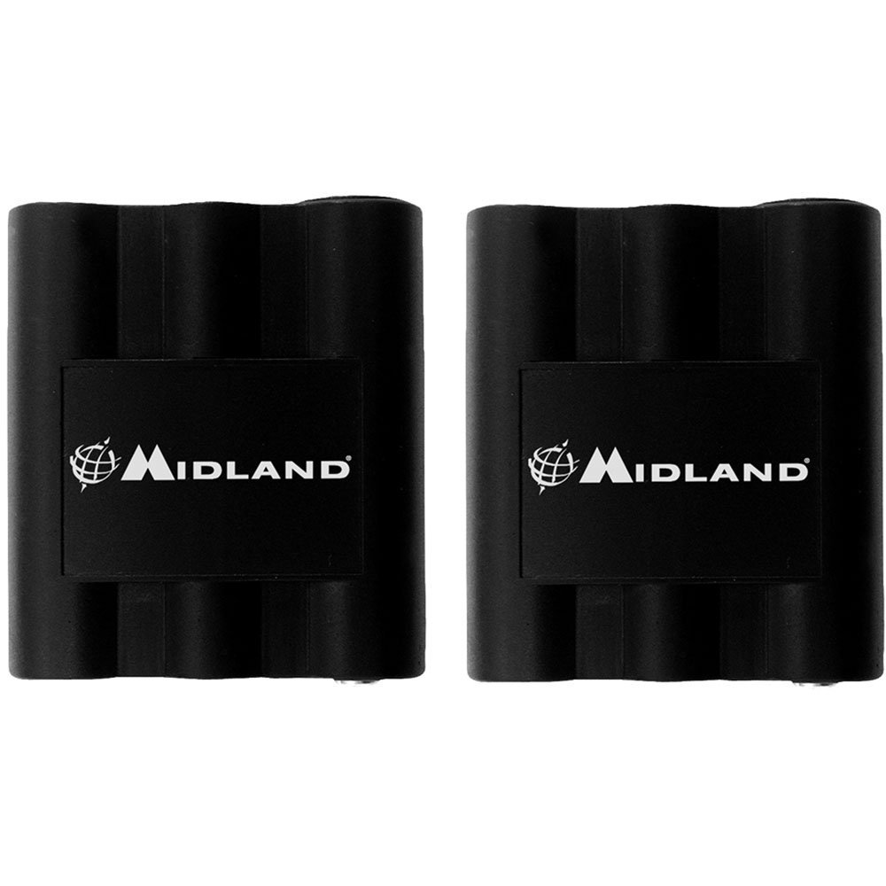 Midland AVP7 Rechargeable Battery Packs for Midland HH54, XT511 and GXT Series GMRS Radios (Pair)
