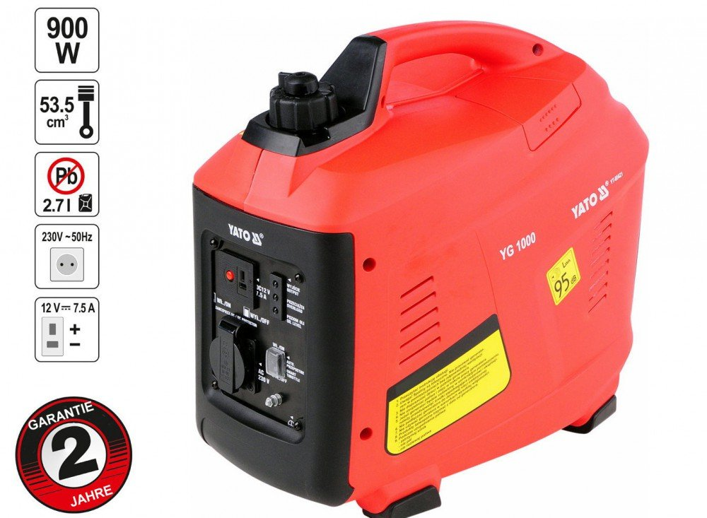 Yato yt-85421-inverter 1,0KW Generator