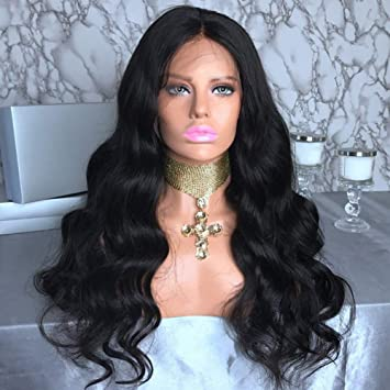 Amazon Com Maylas Hair 130 Density 13x4 Body Wave Lace Wigs On