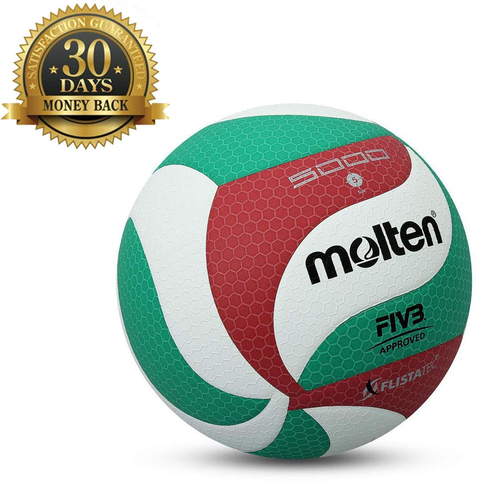 Sports Factory V5M5000 メンズ NCAA フリスタチバレーボール 公式サイズ 5 メンズ ゲーム バレーボールボール 屋内 屋外 トレーニング用 ボールニードル付き B07QTGN5GQ