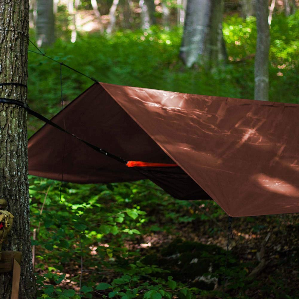 Golberg 10-Foot x 12-Foot Tarp Cover in Blue and Brown Heavy Duty GOLBERG G