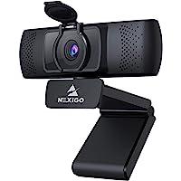 2021 1080P Streaming Business Webcam with Microphone & Privacy Cover, AutoFocus, NexiGo N930P HD USB Web Camera, for…