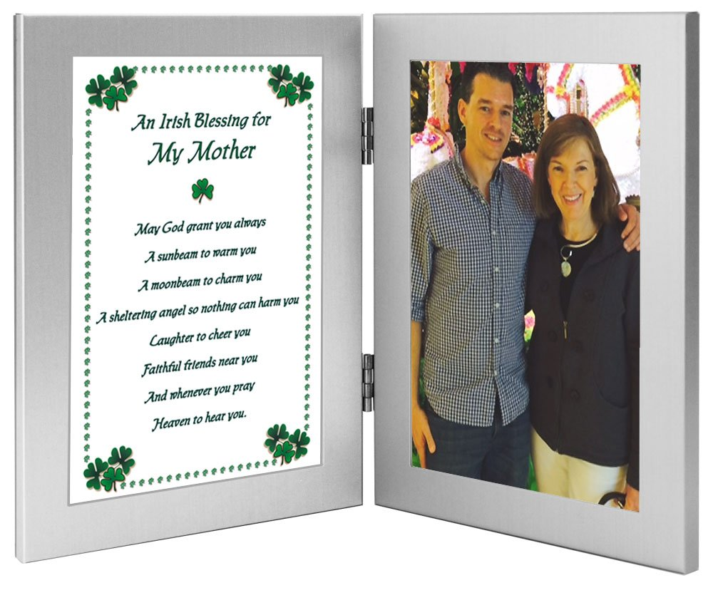 Amazon.com: Mother Birthday Gift of an Irish Blessing Frame for Mom ...