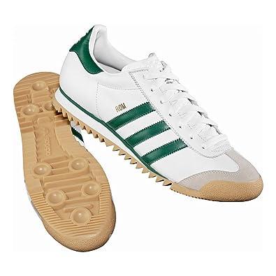 Adidas Originals Rom Mens Limited Edition White Green Retro