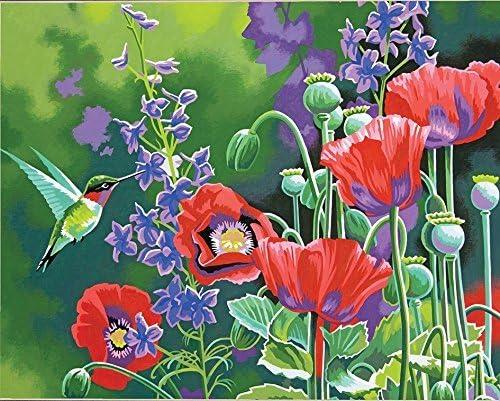 jynxos sin marco rosa Europa flores DIY Pintura Por Números acrílico pintura por números pintados a mano de pintura al óleo sobre lienzo para decoración del hogar: Amazon.es: Juguetes y juegos