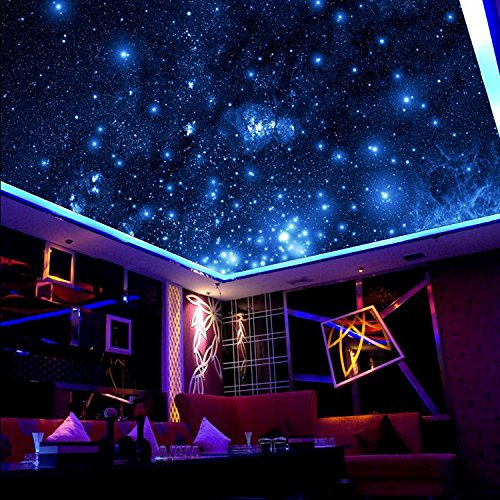 ZLJTYN 240cmX160cm luxury self adhesive wallpaper modern design milky way ceiling wallpaper sofa TV background wall hotel shop wallpaper by ZLJTYN (Image #2)