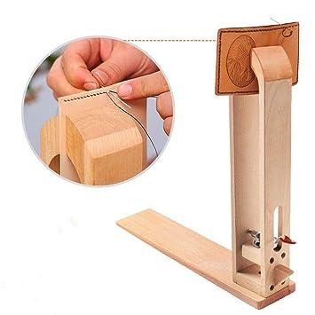 Malayas Valet de couture en bois pour le travail du cuir pince couture Outil  de Serrage c50378620c4