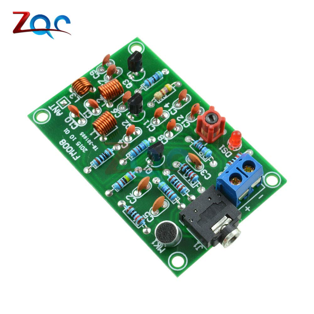 Wireless Fm Module 76 110 Mhz Fm Radio Transmitter Repeater Mp3 Module Audio Wireless Transmitter Module 3v 12 V Mic Microphone Business Industry Science