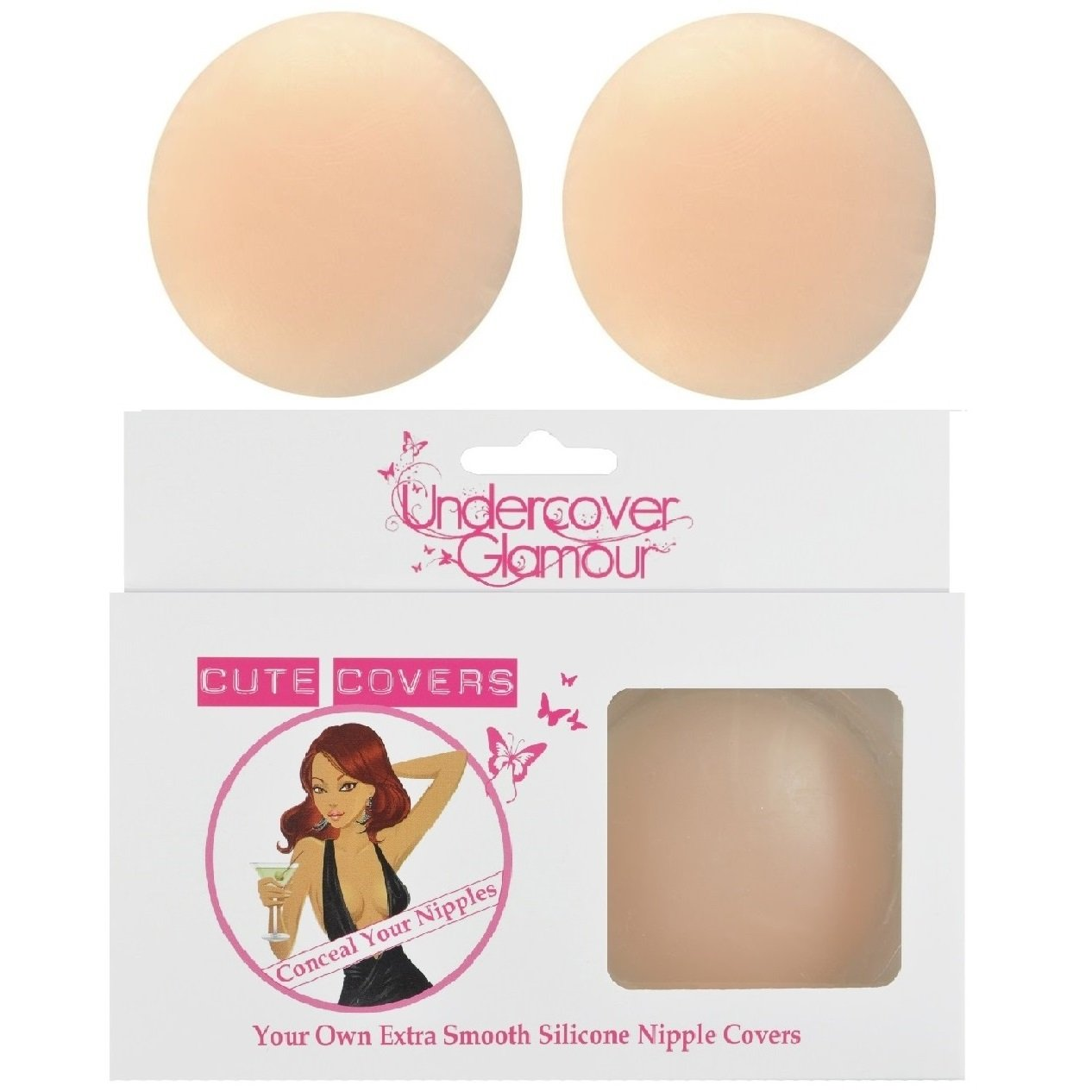Silicone Nipple Covers - Circle Shaped (Reusable)