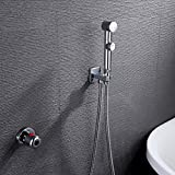 LightInTheBox Bathroom/Toilet Portable Chrome Shattaf Bidet Sprayer Women Cleaner, With Thermostatic Faucet Valve And 150 cm Hose