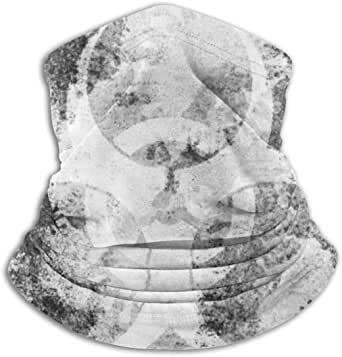Biohazard Symbol Non Slip Seamless Dust Men & Women Face Stop Stop Corona M_Ask for Outdoor Sports Neck Gaiter Cover Scarf Bandana Balaclava Black