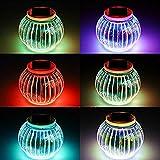Solar Powered Outdoor Lights,AVEKI LED Color