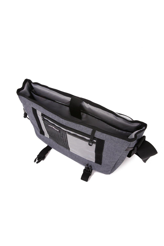 Amazon.com: Swiss Gear SA5320 Messenger Bag, Heather Gray: Computers & Accessories