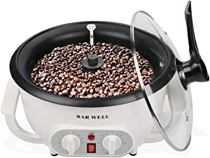 2020 Upgrade Coffee Roaster Machine for Home Use,110V Household Electric Coffee Bean Roaster with Timer 1200W Roasting Machine Peanut Bean Home Coffee Roaster
