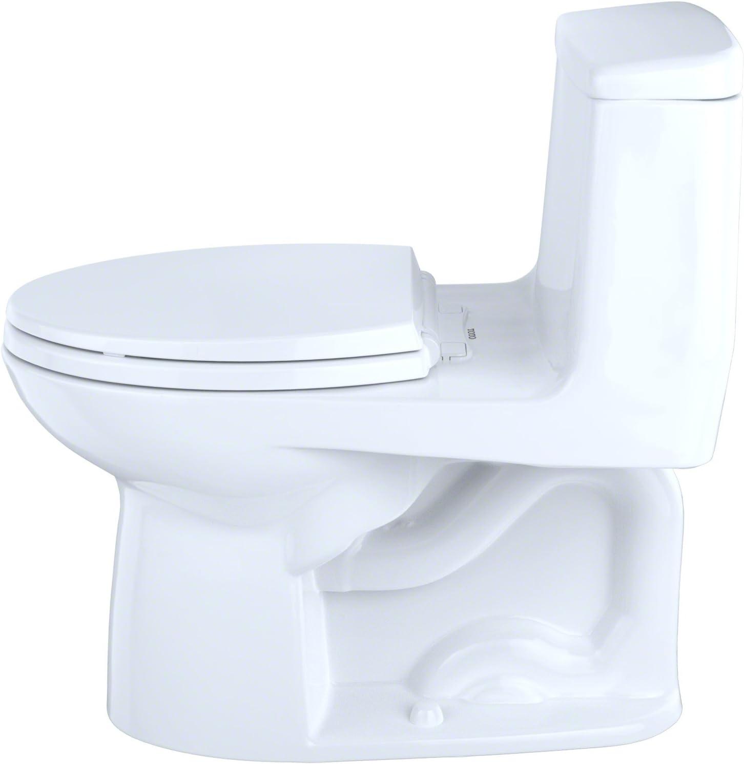 TOTO MS854114E#01 Eco Ultramax Elongated One Piece Toilet, Cotton White - -
