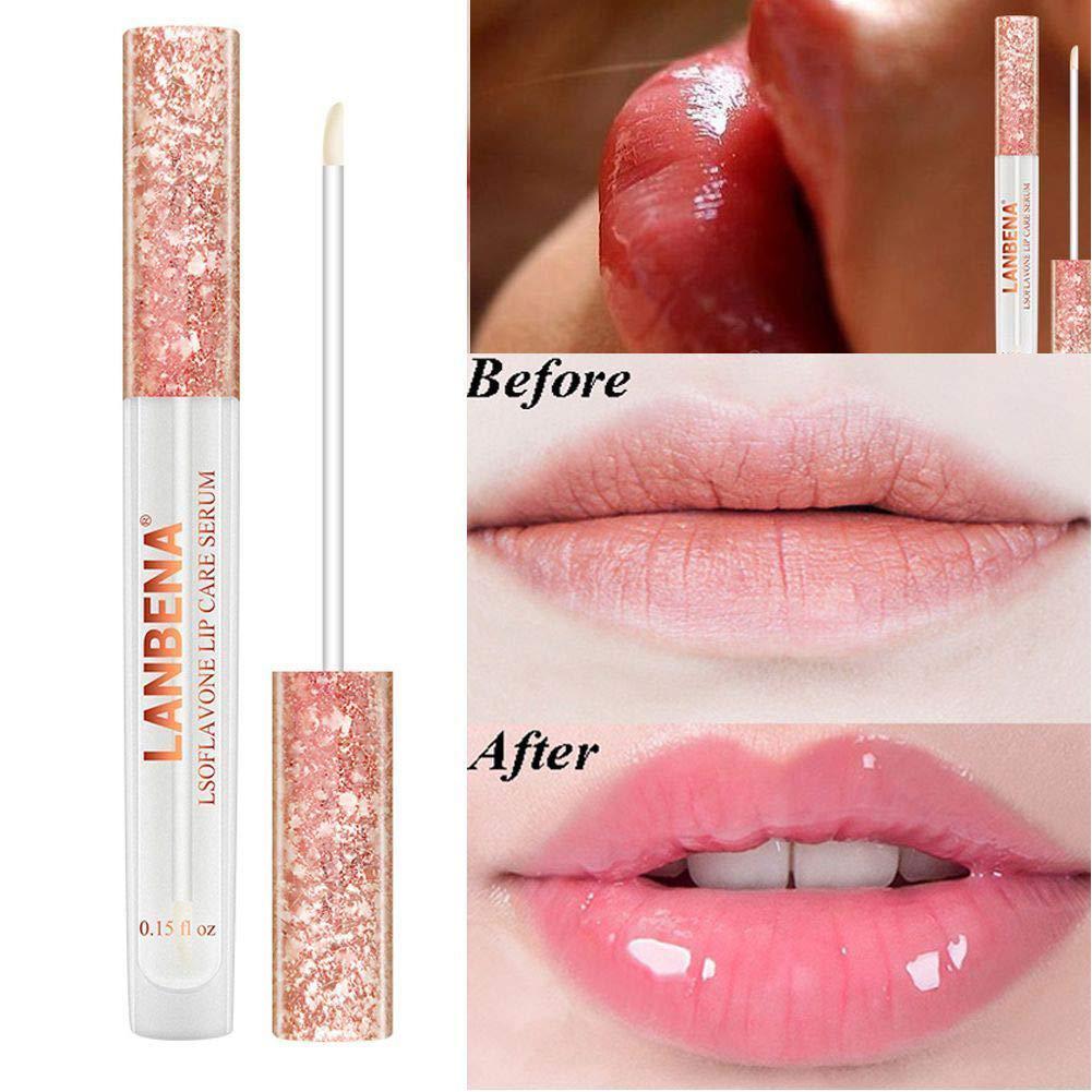 Fanmin LANBENA Lips Care Serum,Moisturizing and Plumping Lips Creating Sexy Doodle Lips, Reduce Fine Lines,Beauty Lipstick by Fanmin (Image #1)