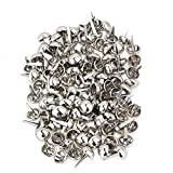 Silver Round Scrapbooking Craft Card Brads Making Tools Brads Pack of 100