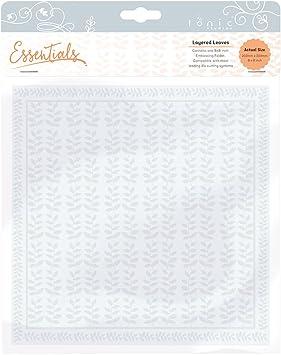 Tonic Studios Embossing Folder Plastik Clear 8x8