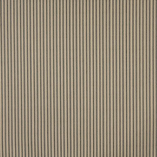 (F755 Mocha Brown Striped Heavy Duty Crypton Commercial Grade Upholstery Fabric by The Yard)