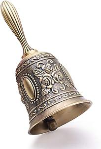 DomeStar Hand Bell Call Bell Brass Wedding Bells