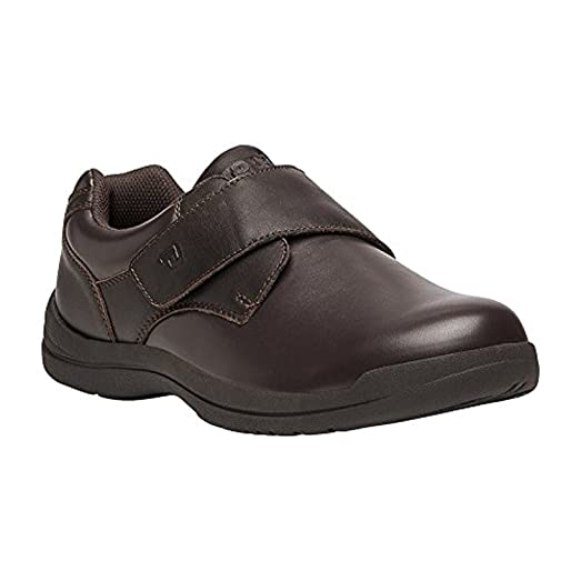 Propet Men's Villager Shoe Brown 10.5 X (3E) & Oxy Cleaner Bundle