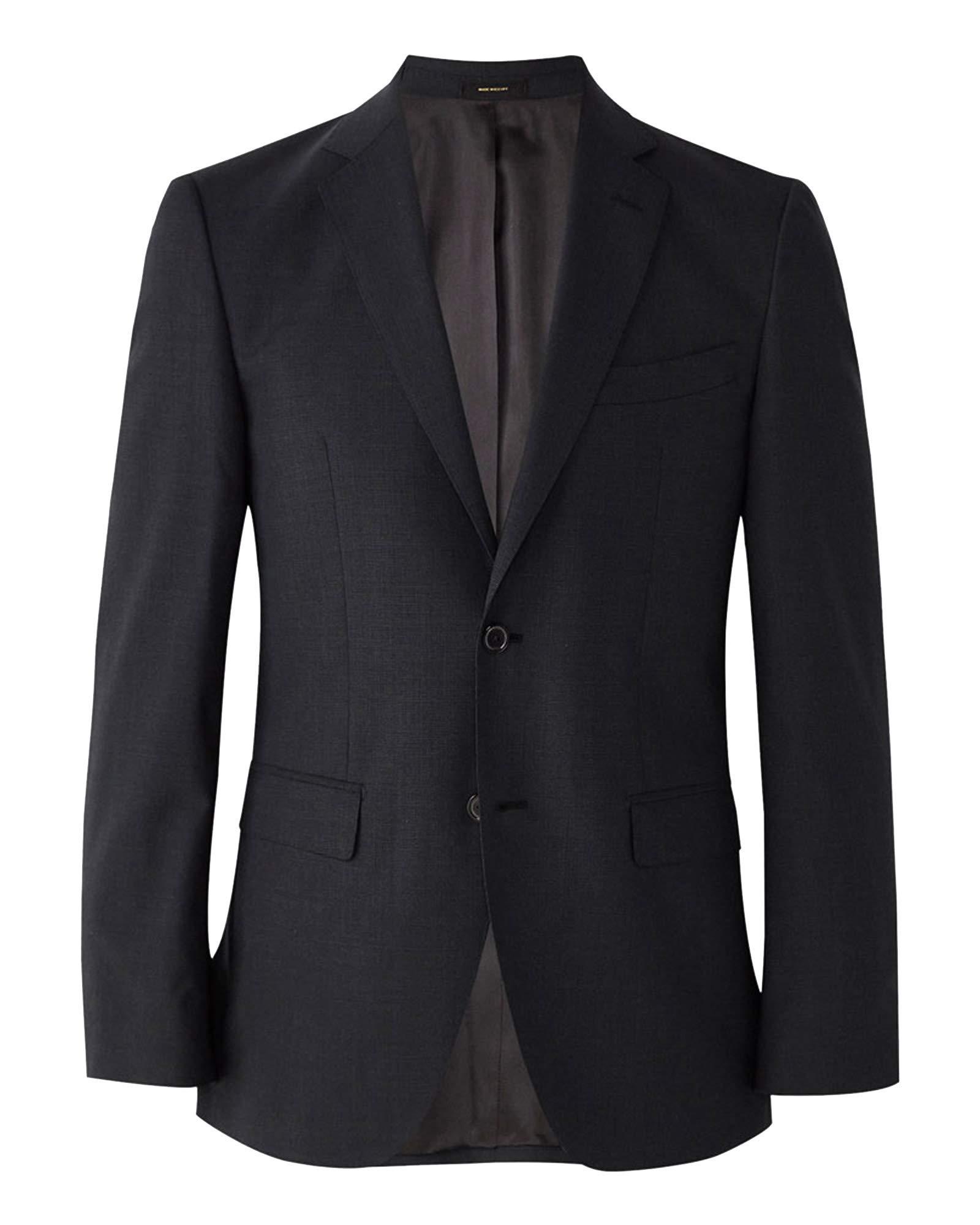 09a9f815163 Massimo Dutti Men Slim fit Plain Wool Blazer 2035 271 (58 EU) Grey