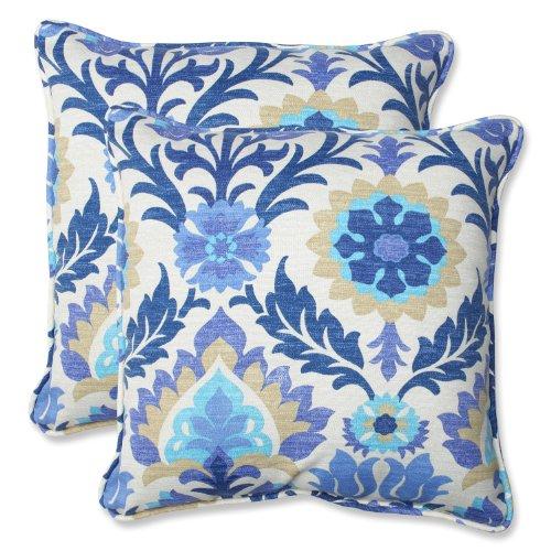 Pillow Perfect Outdoor Santa Maria Throw Pillow, Set of 2, 18.5