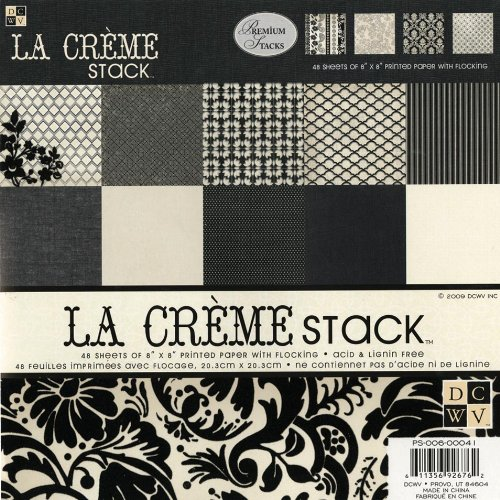 Diecuts With A View 8 by 8 La Creme Premium Stack