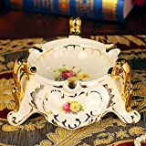 European style living room coffee table and ashtray ornament/ Office of the ceramic ashtrays ornaments-B