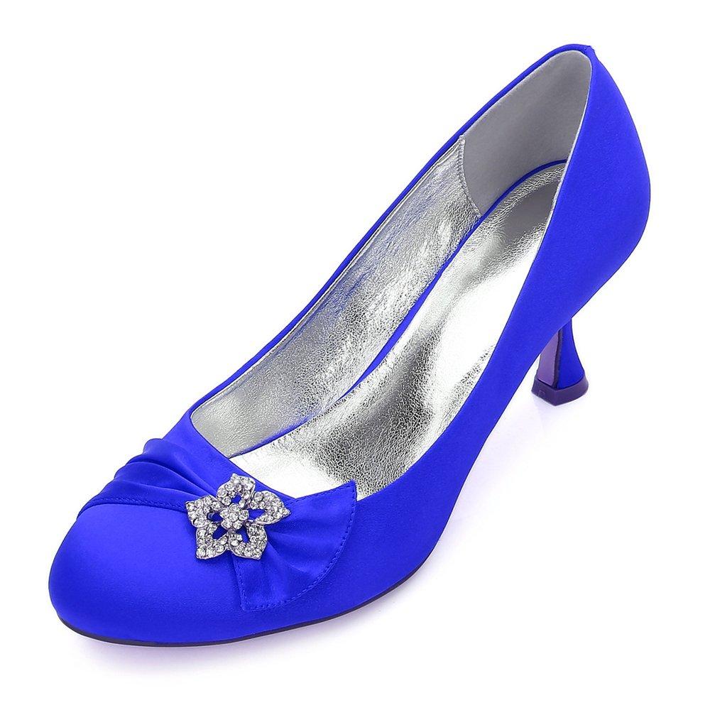 Qingchunhuangtang@ Schuhe der Größe Frauen Hochzeit Schuhe Strass Runde Bridal schuhe Prom schuhe tägliche Arbeit Schuhe