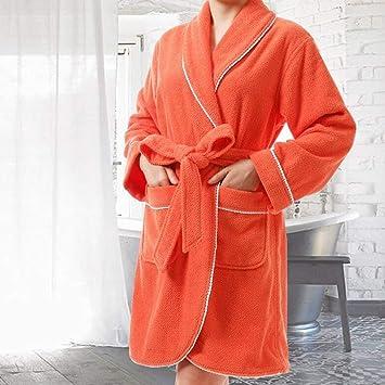 GUO Pijamas cómodos para el hogar Tienda de algodón con bolsillos ...