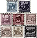 Austria 433-441 (complete.issue.) unmounted mint / never hinged 1923 Welfare (Stamps for collectors)
