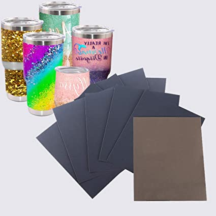 10 Pcs Epoxy Sanding Papers for Crafts Tumbler, USLINSKY Waterproof Epoxy  Polishing Papers Apply to Remove Smudges and Bumps, Superfine Epoxy