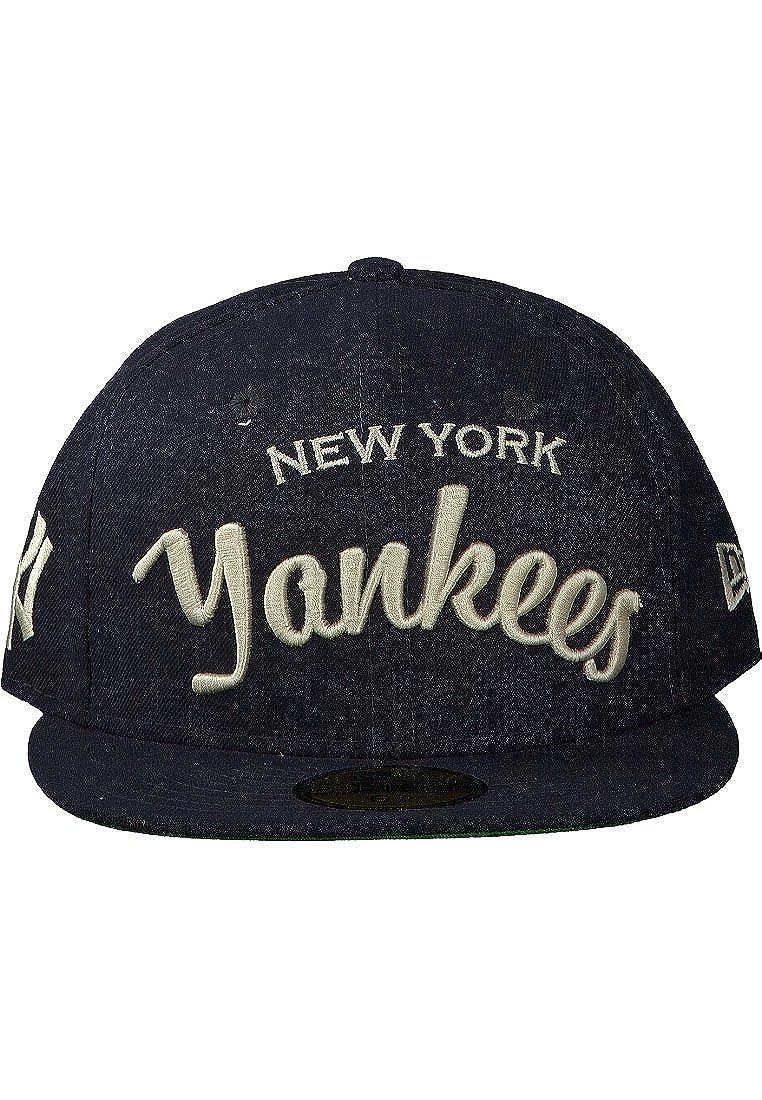 NEW ERA 59FIFTY-Cappello ARCH CAP. NEW YORK CITY YANKEES. colore  blu 7140db053906