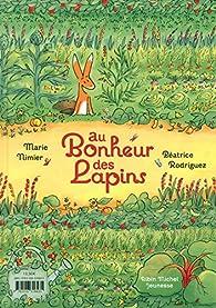 Au bonheur des lapins par Marie Nimier