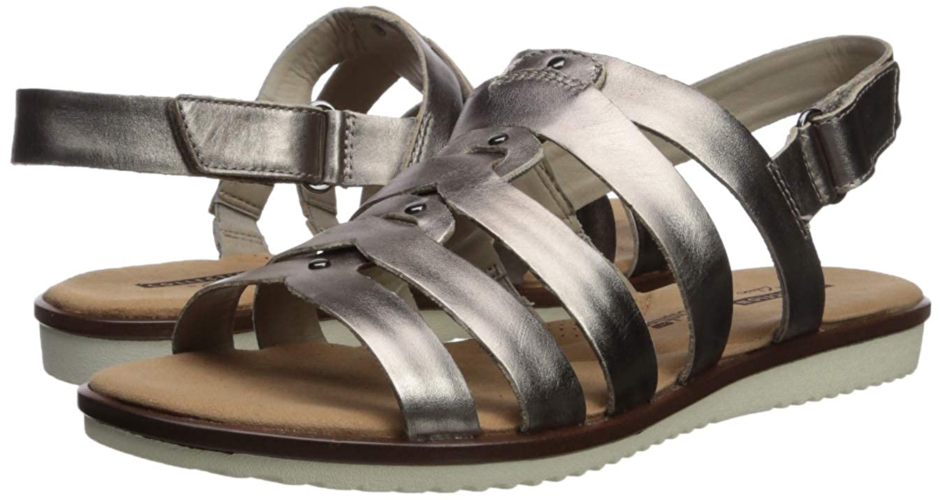 72586c639fe4 Amazon.com  CLARKS Women s Kele Jasmine Sandal  Clarks  Shoes