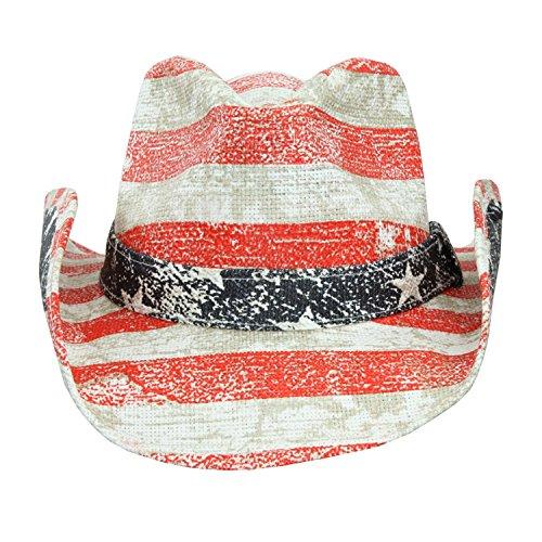 Peter Grimm Mens Straw Cowboy Hat ceccd477301