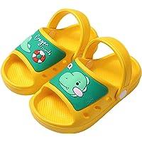 Zuecos Niños Lindo Sandalias de Playa y Piscina Verano Zapatillas Niña Niño Respirable Antideslizante Plana Zapatos de…