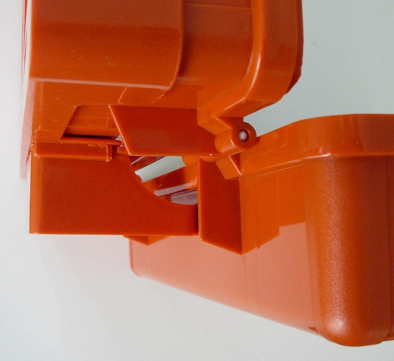 Verbandbuch Erste-Hilfe-Koffer MAXIPRO DIN//EN 13169 f/ür Betriebe ab 50 Mitarbeiter inkl