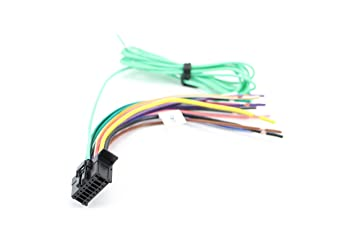 Xtenzi Car Radio Wire Harness Compatible with Pioneer CD DVD Navigation on