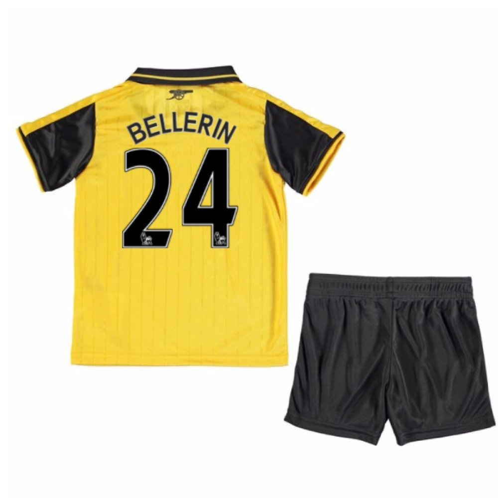 UKSoccershop 2016-17 Arsenal Away Mini Kit (Hector Bellerin 24)