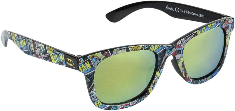 Boys Batman Sunglasses Black One Size 3 to 10 Years