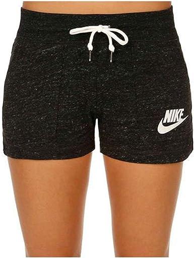 Nike Vintage – Pantalón Corto para Mujer, Color Gris Jaspeado/Sail ...