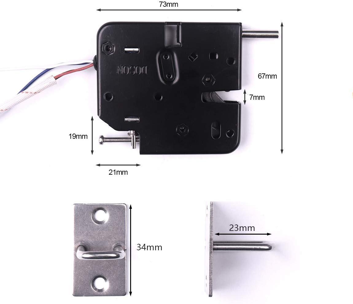 atoplee dsck7267/Holding Force Electric Magnetverschluss f/ür T/ür Access Control System Elektromagneten ausfallsicherem