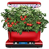 AeroGarden Harvest Elite with Gourmet Herb Seed Pod Kit, Red