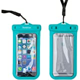 iPhone 6 Case, DandyCase SLIM Waterproof Case for Apple iPhone 6 (Will NOT fit iPhone 6 Plus or other smartphones) - IPX8 Certified to 100 Feet [Retail Packaging by DandyCase] (Aqua)