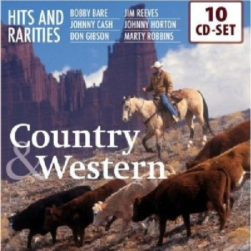 200 Hits and Rarities of Country & Western: Bobby Bare, Johnny Cash, Don Gibson, Jim Reeves, Marty Robbins, Johnny Horton, amo! (Ernest Box Tubb Set)