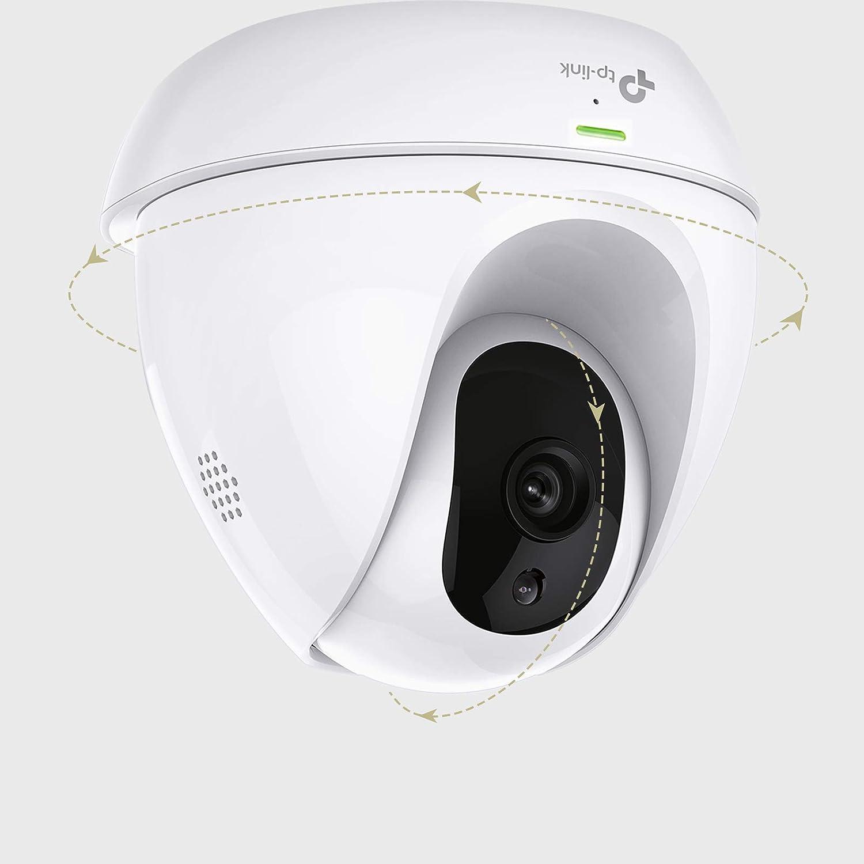 Tp-Link Nc450 - Cámara de Seguridad IP HD de Día/Noche con Wi-Fi, 720P, Panorámica/Inclinación, Audio Bidireccional, Detección De Movimiento y Sonido, ...
