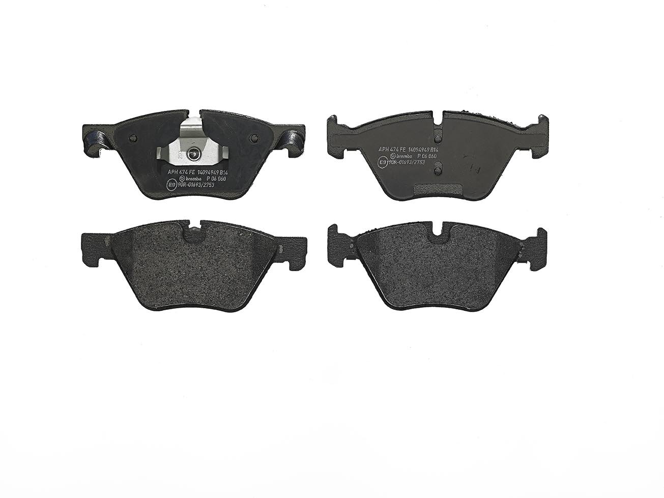 Brembo P06060 Front Disc Brake Pad Set of 4